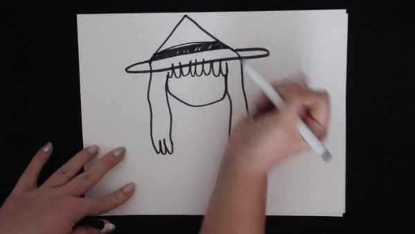 Story Drawing Witch