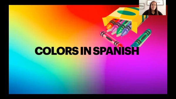 Spanish - Colors